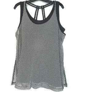 14/16 Livi Active by LB Workout Tank - Mesh + Cami